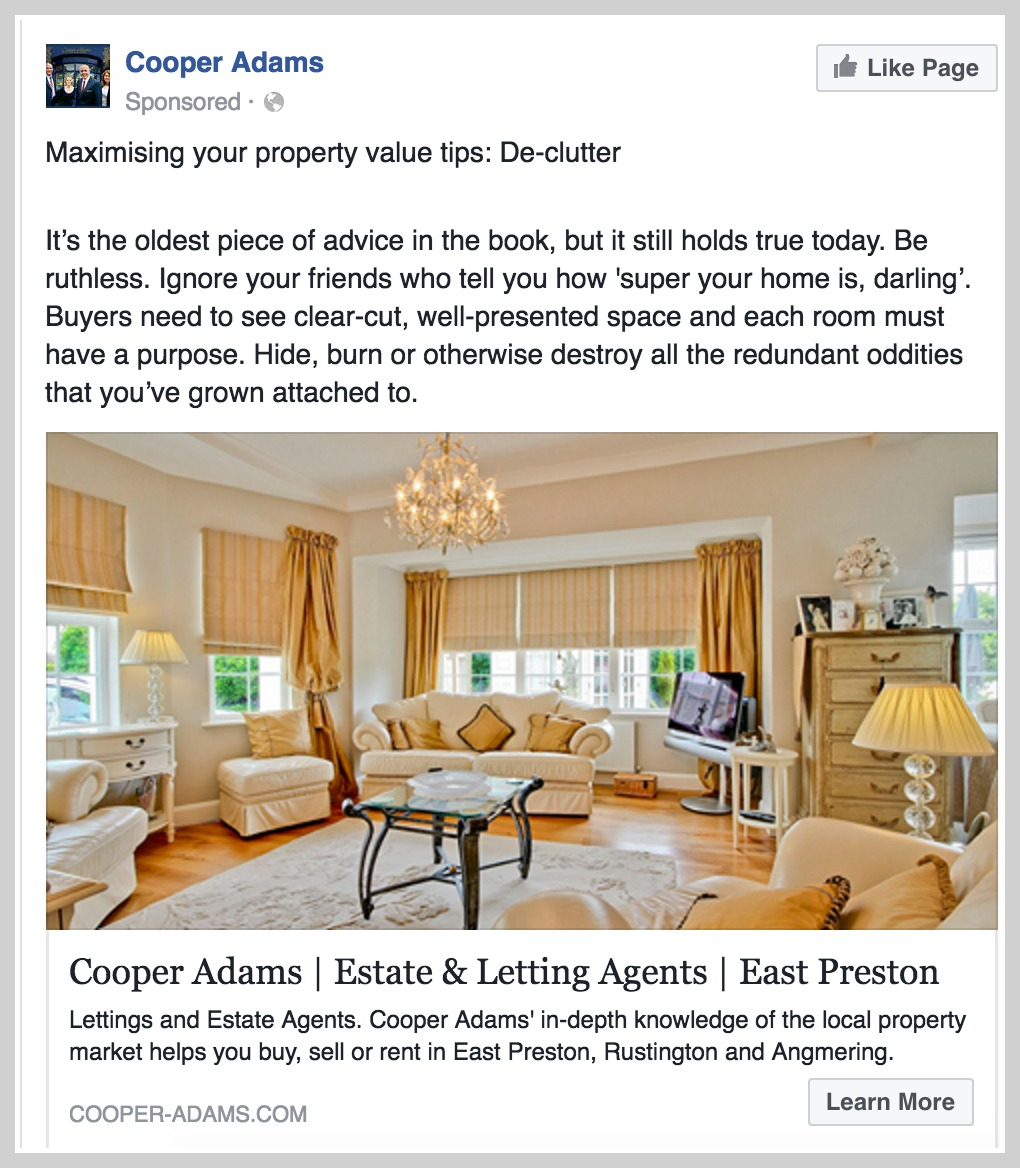 Your complete facebook ads blueprint in 3 simple steps for Interior design facebook pages