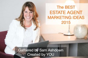 The Best Estate Agent Marketing Ideas 2015 title slide