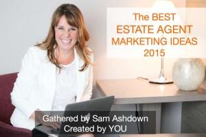 The Best Estate Agent Marketing Ideas 2015 title slide